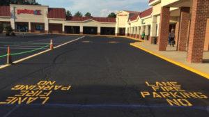 Turner Asphalt Petco Parking Lot